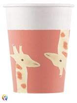 Safari Party 200ml Paper Cups 8pk