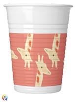 Safari Party 200ml Plastic Cups 8pk