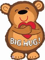 "Big Bear Hug 28"" Supershape Foil Balloon"