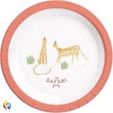 Safari Party 23cm Paper Plates 8pk