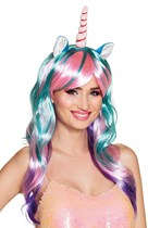 Unicorn Daydream Wig With Horn And Ears