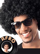 Adult Afro Wig - Black