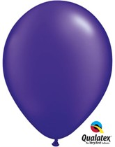 "16"" Pearl Quartz Purple Latex Balloons - 50pk"