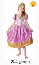 Glitter Disney Princess Rapunzel Costume and Tiara - Small