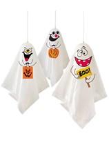 Halloween Hanging Ghost Decorations 3pk