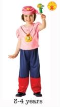 Izzy Jake & The Neverland Pirates Costume - Small