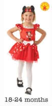 Minnie Mouse Red Ballerina Dress and Headband - Infant