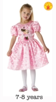 Classic Pink Minnie Mouse Dress - Large