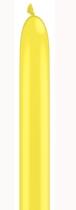 Qualatex 160Q Yellow Latex Modelling Balloons 100pk