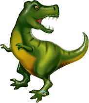 """Tyrannosaurus T-Rex Dinosaur 42"""" Foil Balloon"""