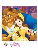 Beauty & The Beast Paper Napkins 20pk