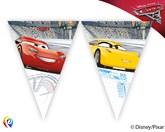 Disney Cars 3 Triangle Flag Banner