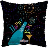 """Happy New Year 18"""" Square Foil Balloon"""