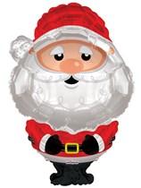 "Christmas Santa Claus 36"" Supershape Foil Balloon"