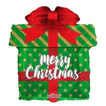 "Christmas Gift 18"" Foil Balloon"