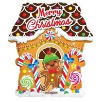 "Christmas Gingerbread 18"" Foil Balloon"