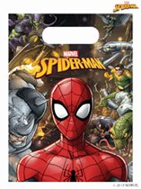 Marvel Spider-Man Plastic Party Bags 6pk