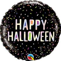 "Halloween Multi Coloured Sprinkles 18"" Foil Balloon"