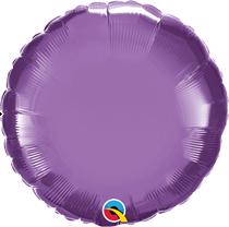 "chrome Purple 18"" Round Foil Balloon (Pkgd)"