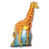 "Giraffe 47"" Foil Balloon"