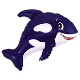 "Orca Killer Whale 35"" Foil Balloon (Loose)"