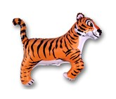 """Tiger With Black Stripes 30"""" Foil Balloon"""