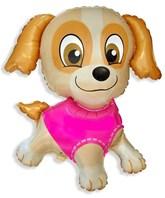 """Pink Jumbo Puppy 31"""" Foil Balloon"""