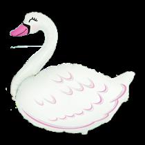 Jumbo Swan Foil Balloon
