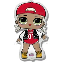 LOl Doll MC Swag Jumbo Foil Balloon