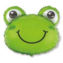 """Green Frog 27"""" Large Foil Balloon"""