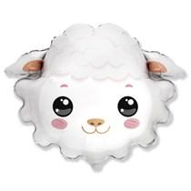 "Sheep Head 30"" Jumbo Foil Balloon"