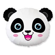 """Panda Head 25"""" Jumbo Foil Balloon"""