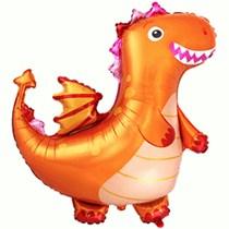 "Orange Dragon 36"" Jumbo Foil Balloon"
