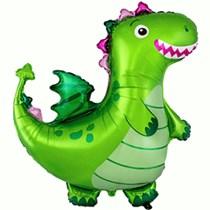 "Green Dragon 36"" Jumbo Foil Balloon"
