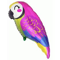 """Tropical Parrot 35"""" Large Foil Balloon"""