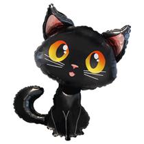 "Cute Black Cat 36"" Large Foil Balloon"