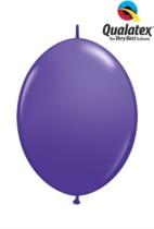 "6"" Purple Violet Quick Link Latex Balloons - 50pk"
