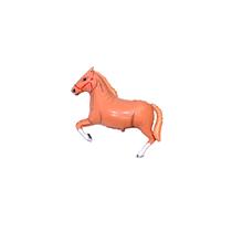 Brown Horse Mini Shape Foil Balloon