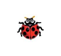 """Ladybird 14"""" Mini Shape Foil Balloon"""