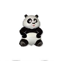 """Panda 14"""" Mini Shape Foil Balloon"""