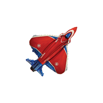 Military Superfighter Plane Mini Shape Foil Balloon