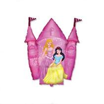 "Princess Castle 14"" Mini Foil Shape Balloon"