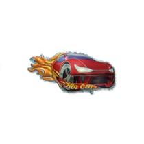 "Red Racing Car 14"" Mini Shape Foil Balloon"