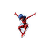 "Miraculous Ladybug 14"" Mini Shape Foil Balloon"