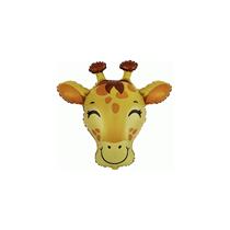 Giraffe Head Mini Shape Foil Balloon