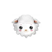 Sheep Head Mini Foil Balloon