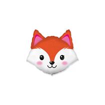 Fox Head Mini Shape Foil Balloon