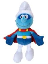 Superhero Smurf Plush Toy