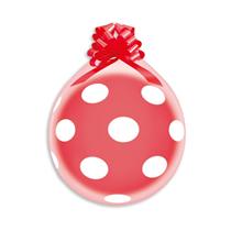 """Gemar Polka Dots 18"""" Latex Stuffing Balloons 25pk"""