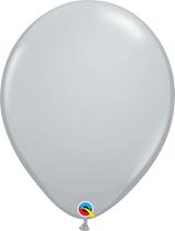 "Grey 16"" Latex Balloons 50pk"